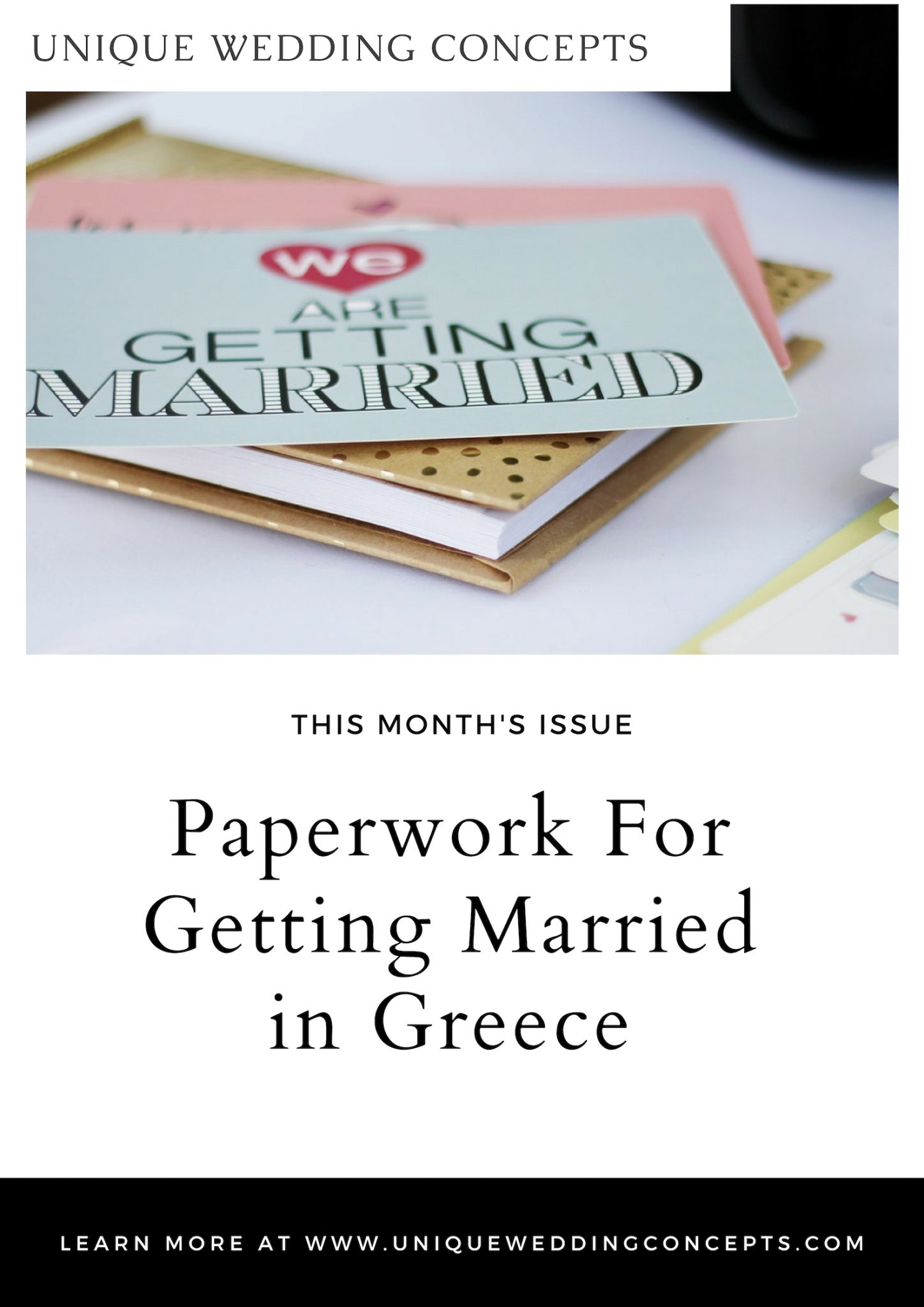 Paperwork for getting married in Greece Unique Wedding Concepts