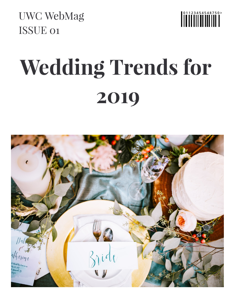 blog 1_Wedding trends for 2019 unique wedding concepts