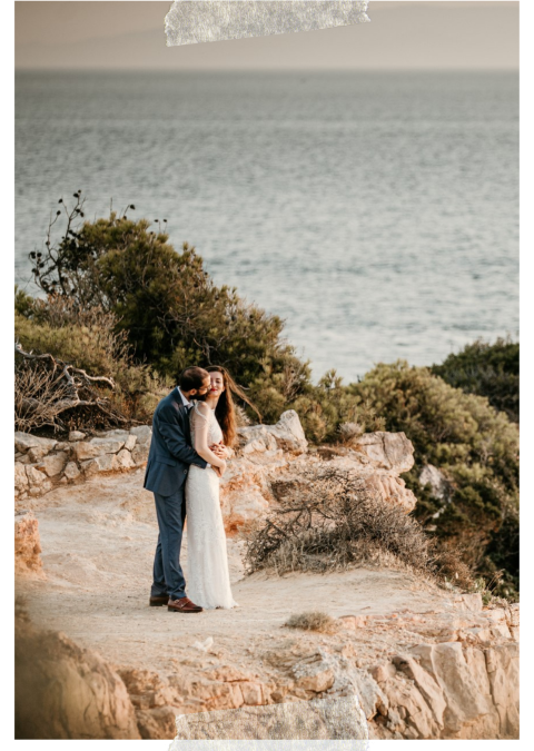 Elegant chic wedding in Athens Riviera